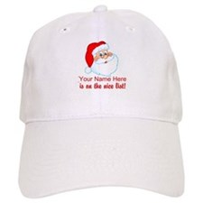 Personalized Nice List Baseball Cap