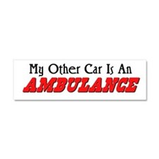 My Other Car Is An Ambulance Car Magnet 10 x 3