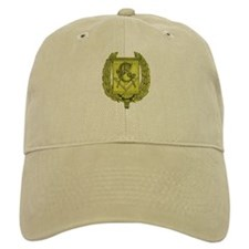 Masonic Gold Emblem Baseball Cap