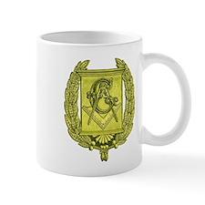 Masonic Gold Emblem Mug