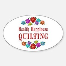Quilting Happiness Decal