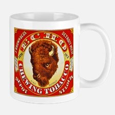 Buffalo Chewing Tobacco Label Mug