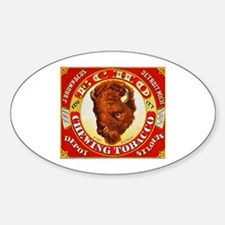 Buffalo Chewing Tobacco Label Decal