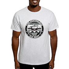 USN Fire Controlman Skull T-Shirt