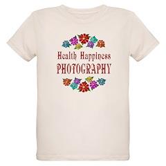 Photography Happiness Organic Kids T-Shirt