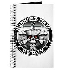 USN Gunners Mate Skull Journal