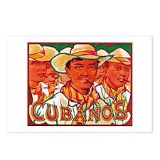 Cubanos Cigar Label Postcards (Package of 8)