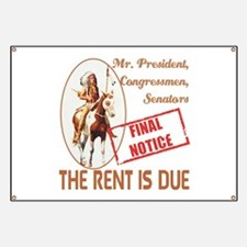 Rent is due Banner