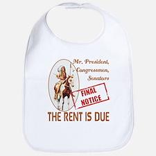 Rent is due Bib