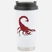 Red Scorpion Stainless Steel Travel Mug