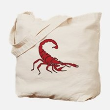 Red Scorpion Tote Bag
