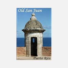 Old San Juan Rectangle Magnet