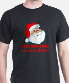 Personalized Naughty List T-Shirt