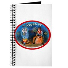 Cowboy Round Up Cigar Label Journal