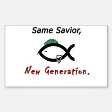 New Generation Sticker (Rectangle)