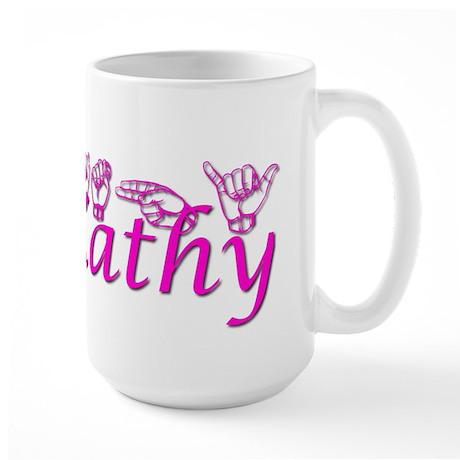 Kathy-htpnk Large Mug