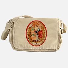 Romeo & Juliet Cigar Label Messenger Bag