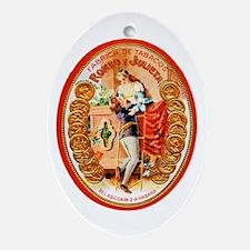 Romeo & Juliet Cigar Label Ornament (Oval)