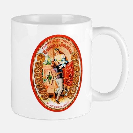 Romeo & Juliet Cigar Label Mug