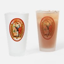 Romeo & Juliet Cigar Label Drinking Glass