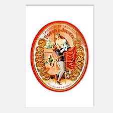 Romeo & Juliet Cigar Label Postcards (Package of 8