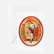 Romeo & Juliet Cigar Label Greeting Card