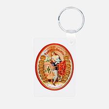 Romeo & Juliet Cigar Label Keychains