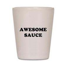 Awesome Sauce Shot Glass