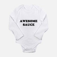 Awesome Sauce Long Sleeve Infant Bodysuit
