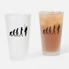 Evolved To Fish Drinking Glass