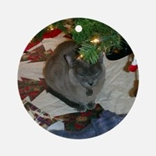 FPG Blue Burmese - Ornament (Round)