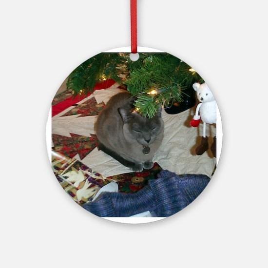 FPG Blue Burmese - Ornament (Round)