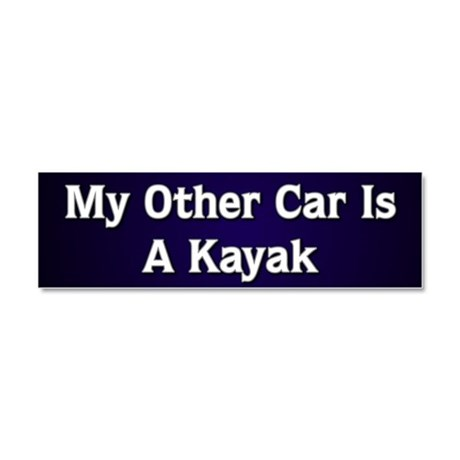 My Other Car Is A Kayak Car Magnet 10 x 3