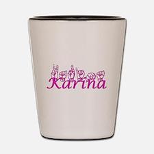 Karina Shot Glass