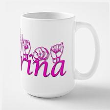 Karina Large Mug