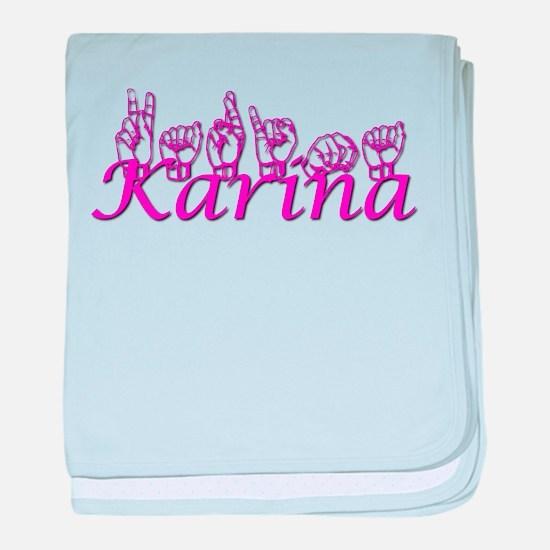 Karina baby blanket