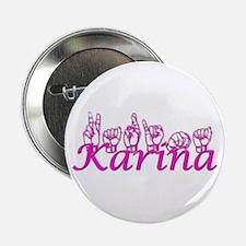 """Karina 2.25"""" Button"""