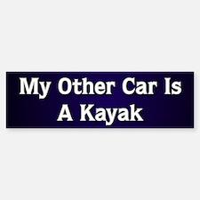 My Other Car Is A Kayak Bumper Bumper Bumper Sticker