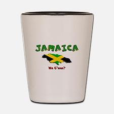 Cute Jamaica Shot Glass
