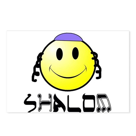 "New Generation ""Shalom"" Postcards (Package of 8)"