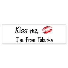 Kiss Me: Fukuoka Bumper Bumper Sticker