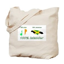 Unique 100 percent irish Tote Bag