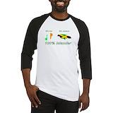 Jamaican irish Baseball Tee