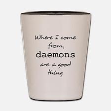 Daemons Shot Glass