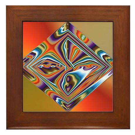 Shiny Framed Tile