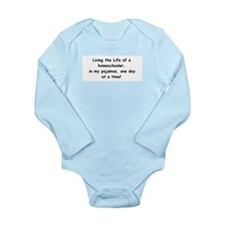 living the life Long Sleeve Infant Bodysuit
