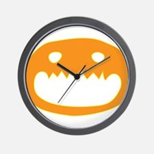 Halloween Face Wall Clock