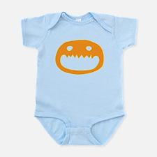 Halloween Face Infant Bodysuit