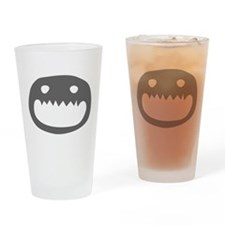 A Monster Face Drinking Glass