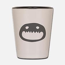 A Monster Face Shot Glass